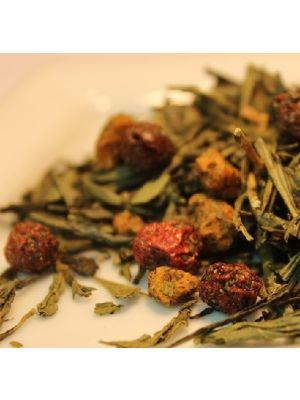 Tè al gusto albicocca
