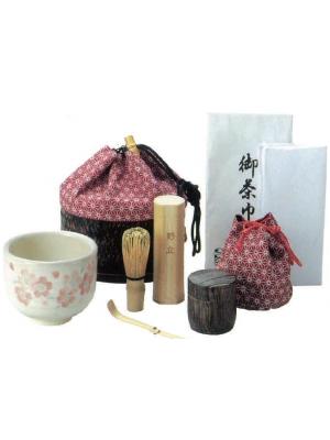 Borsa viaggio per tè matcha
