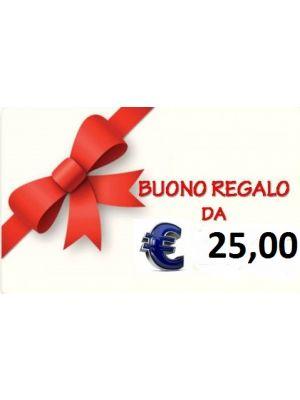 BUONO REGALO DA € 25,00